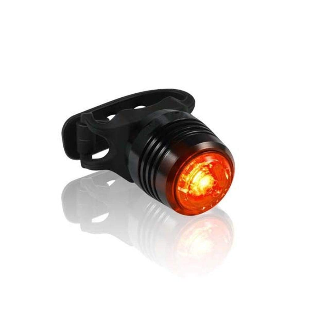 Daeou Luces de Bicicleta USB Rechargeable Aluminum Alloy Warning Lamp Accessories Night Riding Creative taillight