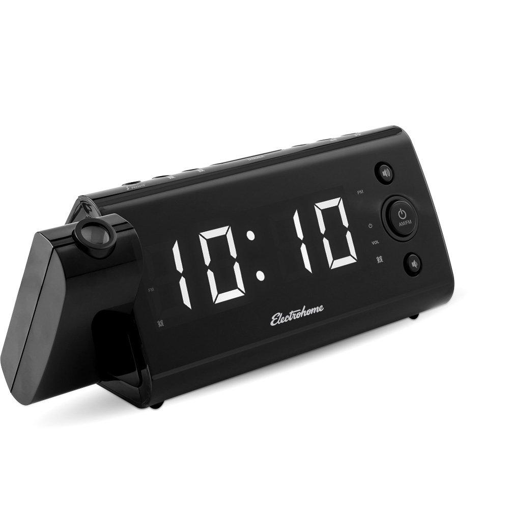 Amazoncom Electrohome EAAC475W USB Charging Alarm Clock