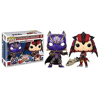 Funko Pop! Games: Marvel Vs Capcom - Black Panther vs Monster Hunter Collectible Figure: Funko Pop! Games:: Toys & Games