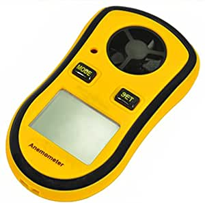 RICHY GLORY- Digital Pocket Anemometer Wind Speed Meter Thermometer