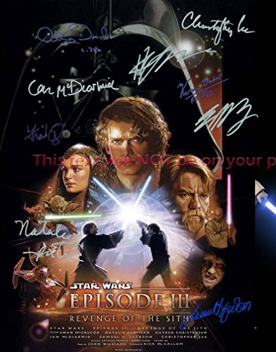 Star Wars episode III - Revenge of the Sith Autographed 11x14 Poster Photo