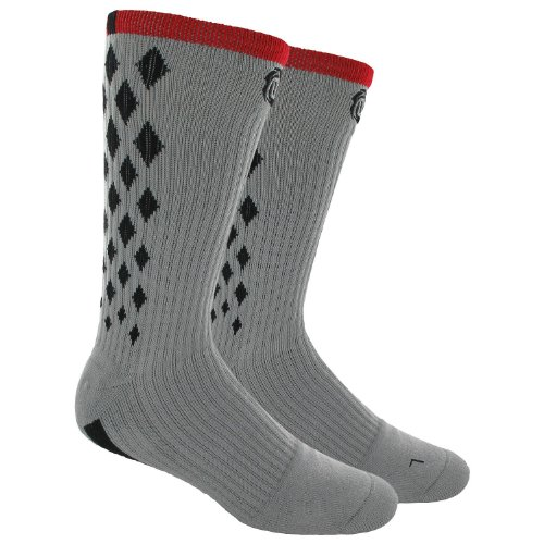 best authentic c577c 8fb32 Adidas D Rose PE Crew Basketball Socks 1 Pair Q30838 Grey/Red Clima Lite  Size Large - Buy Online in Oman. | Misc. Products in Oman - See Prices, ...