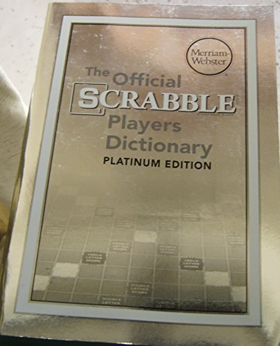 The Official Scrabble Players Dictionary (5th Edition -2014) Platinum Edition