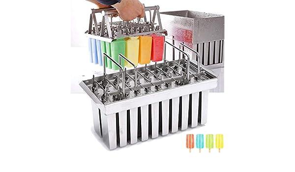 Compra NMT - Moldes de acero inoxidable para helado (20 unidades ...