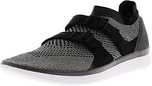Nike Air Sockracer Flyknit Hommes Gris Textile Athlétique Chaussures De Course 10.5