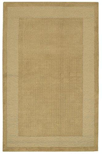 Nourison Westport Sand Rectangle Area Rug, 5-Feet by 8-Feet (5' x 8')