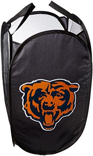 FOCO Chicago Bears Team Logo Laundry Hamper (Chicago Bears Accessories)