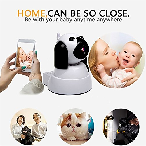 511a4HGrNZL - Wireless IP Camera Security Camera 720P HD Baby Monitor Dog Pet Nanny IP Cam Pan/Tilt with Motion Detection Two-Way Audio Night Vision