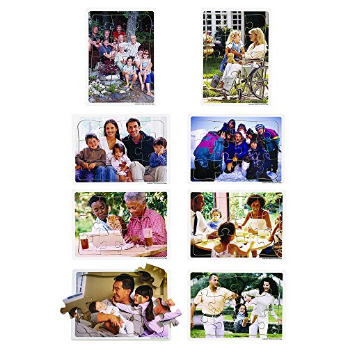 Excellerations Photographic Multicultural Family Puzzle 11-5/8