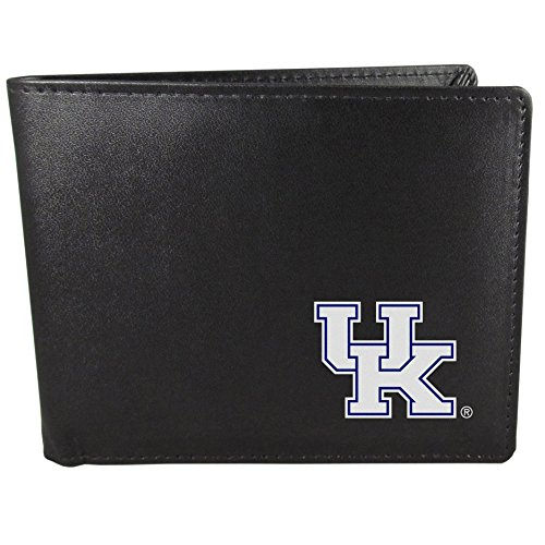 Siskiyou NCAA Kentucky Wildcats Bi-fold Wallet, Black