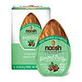 NOOSH Keto Chocolate Mint Almond Butter Packets 15ct (0.5oz) - Vegan, Kosher, Gluten Free, Non GMO, Keto and Low Carb Friendly - Made with Whole California Almonds