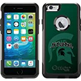 Michigan State - Watermark 2 design on Black OtterBox Commuter Series Case for iPhone 6 Plus and iPhone 6s Plus