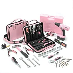 Little Pink Mini-Pro Combo Drill Kit