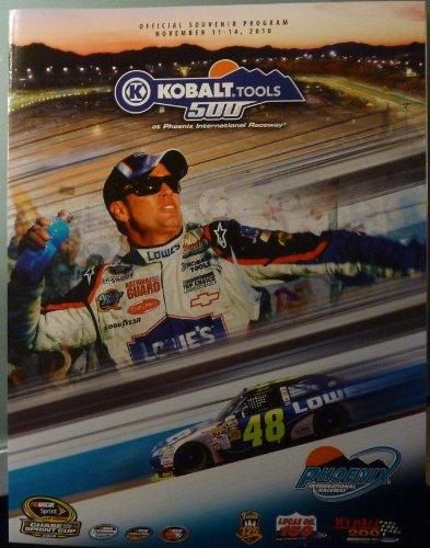 (Official Program - Kobalt Tools 500 at Phoenix International Raceway - November 11 - 14, 2010 - NASCAR)