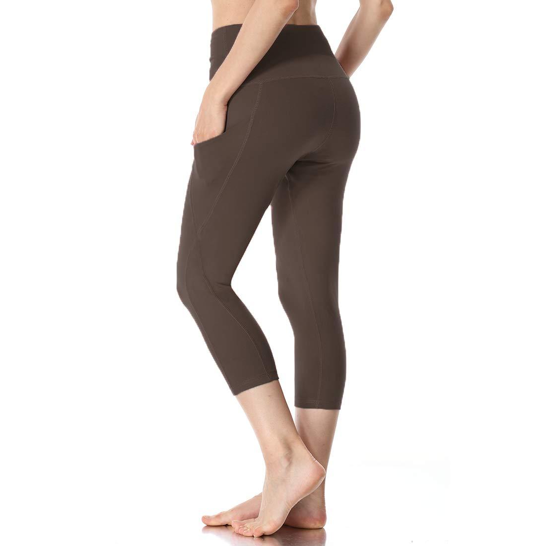 Amazon.com: Yoga Pants for Women with Pocket - Tummy Control ...