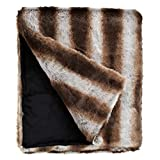 Fabulous Furs: Faux Fur Luxury Throw Blanket, Chinchilla, Available in generous sizes 60''x60'', 60''x72'' and 60''x86'', by Donna Salyers