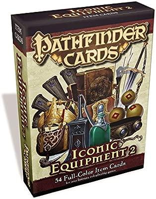 Pathfinder Cards: Iconic Equipment 2 Item Cards Deck