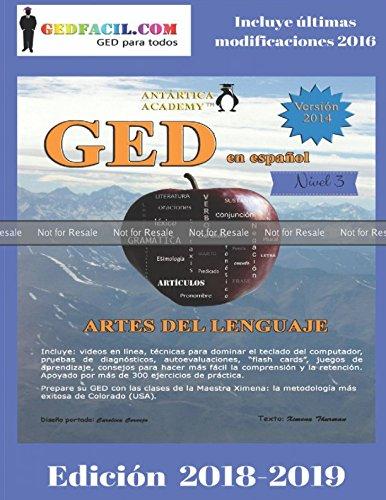 PROOF: GED en español - Artes del Lenguaje Nivel 3: Módulo Gramática de la Maestra Ximena Paperback