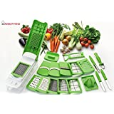 Darkpyro'S 20 In 1 Fruit & Vegetable Graters Slicer Juicer Chipser, Dicer, Cutter Chopper