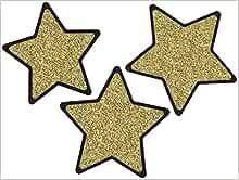 "Medium 12"" Sparkle Flat Star"