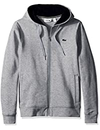 Men's Full Zip Hoodie Fleece Sweatshirt, Sh7609