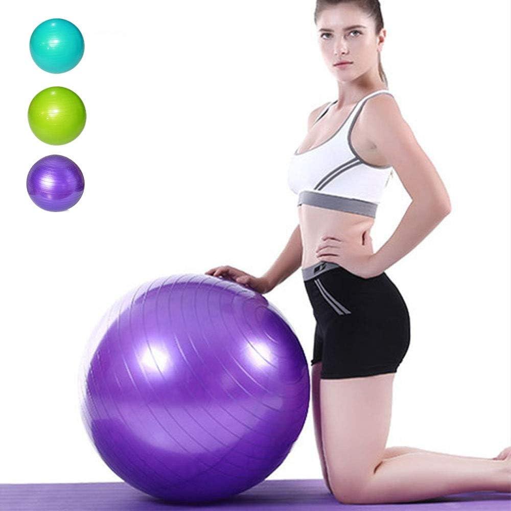 XGYUII Pelota de Yoga Ejercicio Antirráfaga Yoga Antideslizante ...