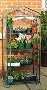 Gardman 4 tier mini greenhouse propagator