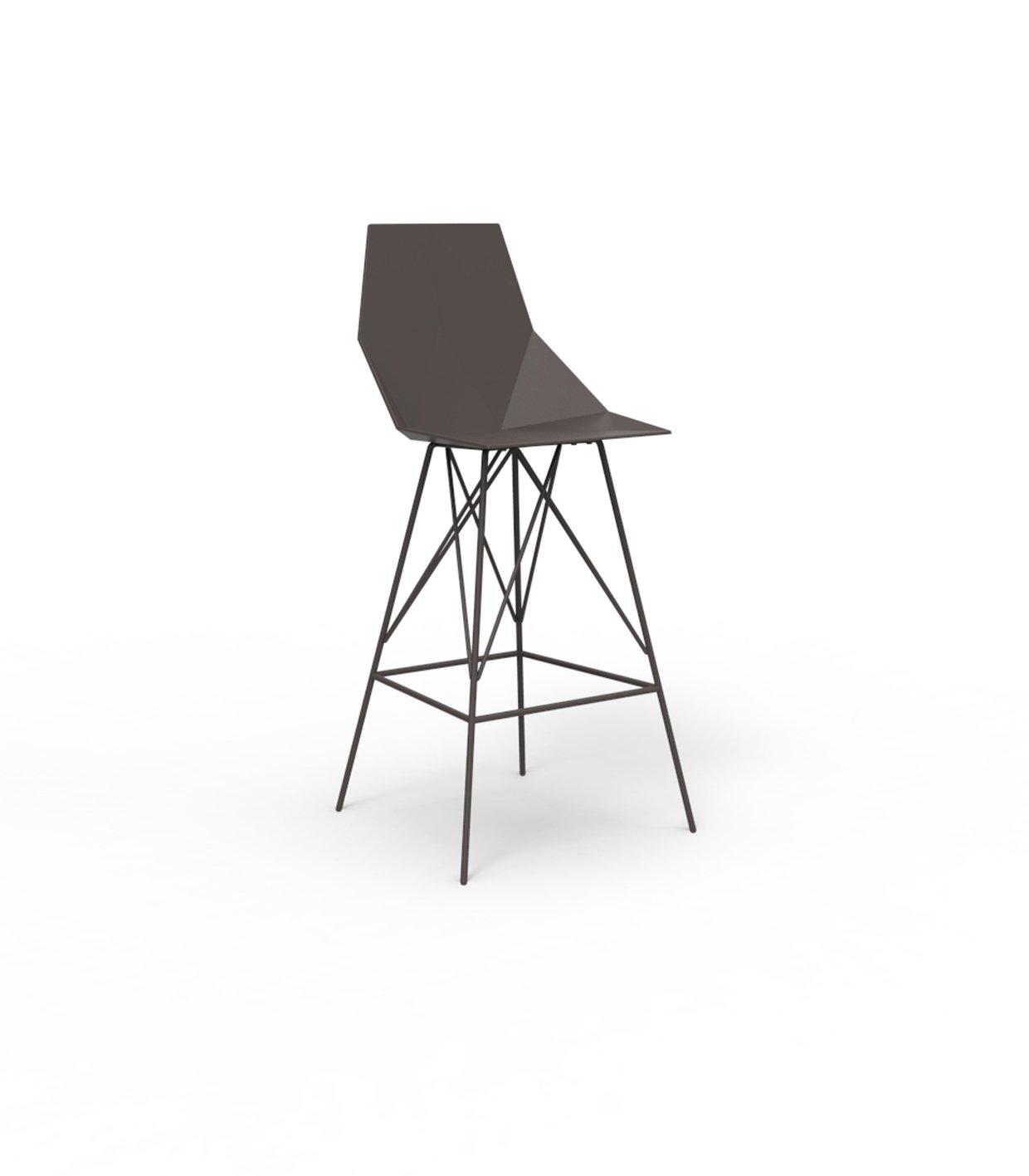 Vondom FAZ Barhocker - bronze - Höhe 111 cm - Ramón Esteve - Design - Barhocker - Gartenstuhl