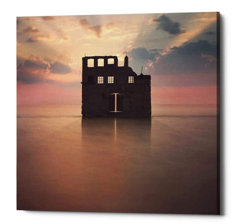 Coastal Jewels II Giclee Stretched Canvas Artwork 18 x 18 Global Gallery Farida Zaman