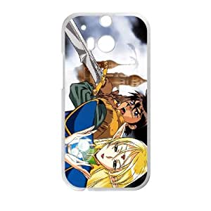 HTC One M8 Cell Phone Case White Record of Lodoss War 005 YD698223