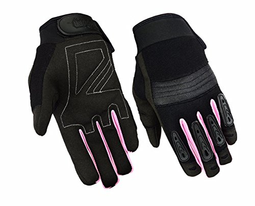 Womens Air Cooled No Sweat Knit Extreme Comfort Riding Glove - stylishcombatboots.com