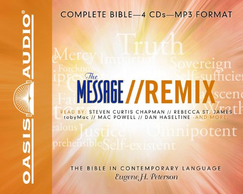 Message Mp3 (The Message Remix Bible: Complete Bible)