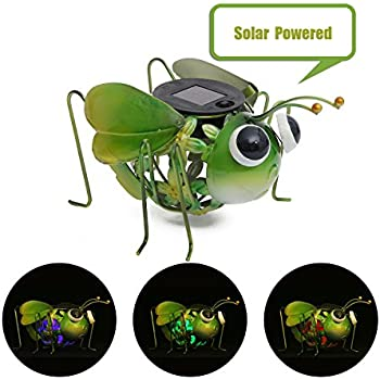 Amazon Com Smart Solar 3566wrm1 Metal Solar Cat Light