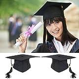 OULII Graduation Cap Hat Adjustable Adults Student