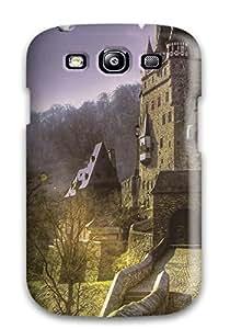 New Fashionable TashaEliseSawyer Cover Case Specially Made For Galaxy S3(eltz Castle)