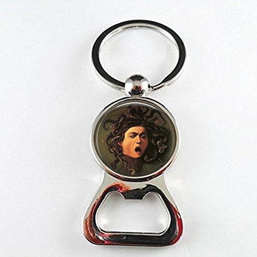 hars Medusa Bottle openers by Michelangelo Caravaggio - Medusa Jewelry - Renaissance Bottle openers - Mythology Lover Gift - Classic - Medusa Bottle