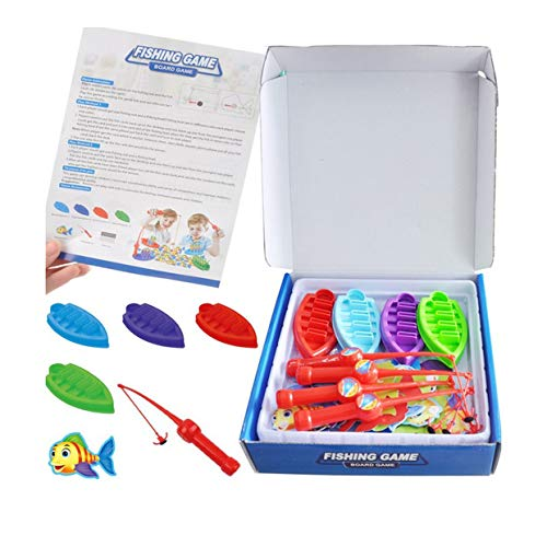 Tivollyff 釣り おもちゃ 屋外玩具釣りプール電気磁気USBインターフェイス釣りおもちゃロッドネットセット子供の子供モデル遊び釣りゲーム 多色