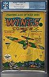 Wings Comics 4 PGX 2.0 Great War Cover 1940