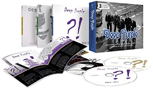 Rapture Of The Deep/Now What?!/The Now What?! Live Tapes - Collector's Package (3CD)