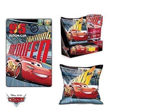 Coffret Coussin + Plaid DISNEY CARS pour Enfant - LQ5000 AUCUNE