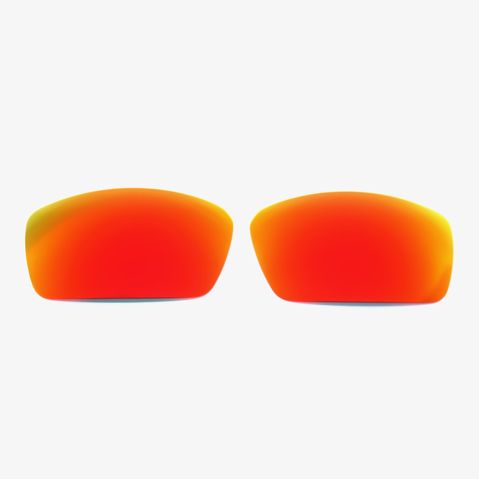 Polarized Replacement Lenses For Spy Optic Dirk Sunglasses Frame Fire Red by oGeee
