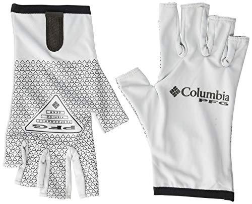 Columbia Unisex Terminal Tackle Fishing Glove, Cool Grey, Large/X-Large