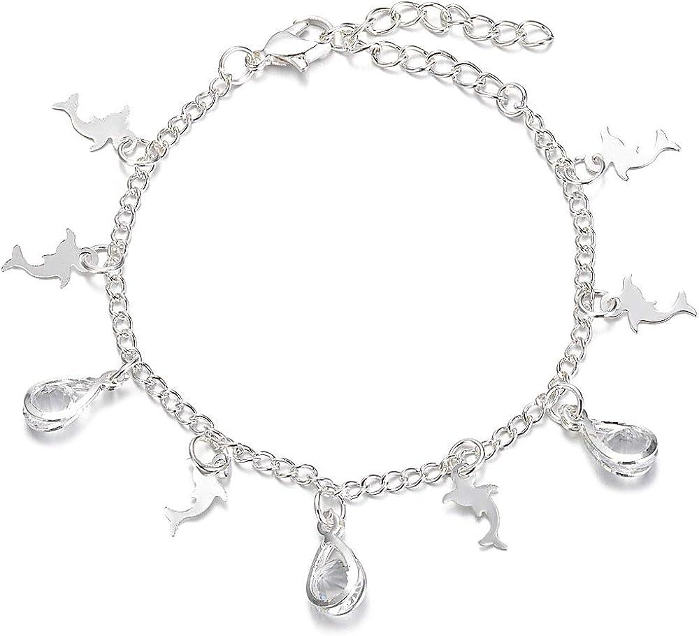 Crystal Dropz Chain Bra