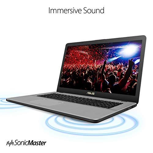 ASUS VivoBook Pro 17 17.3in FHD, Intel Core i7-8565U, GeForce GTX 1050, 16GB DDR4, 256GB SSD+1TB, Wi-Fi 5, Backlit KB, FP Reader, Windows 10 - N705FD-ES76 (Renewed)