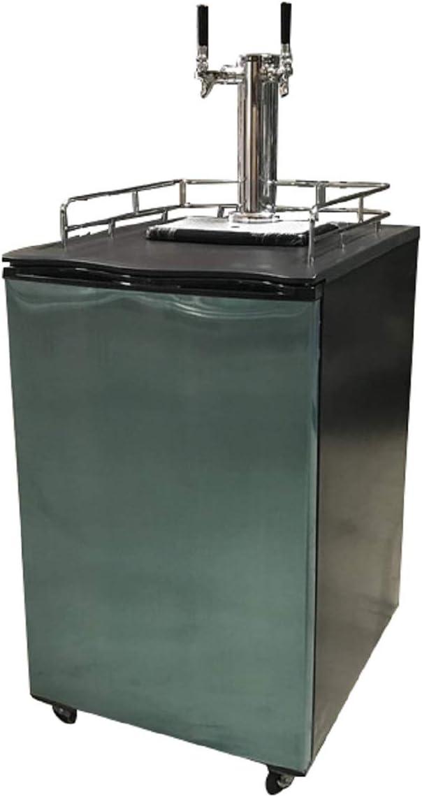 2 Tap Beer Dispenser Kegerator Refrigerator - Half Keg 511aCimhxMLSL1227_