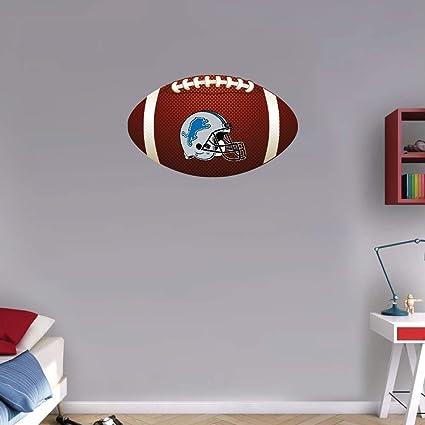 Cool Amazon Com Sport Detroit Lions Helmet Nfl Logo Ball Art Download Free Architecture Designs Sospemadebymaigaardcom