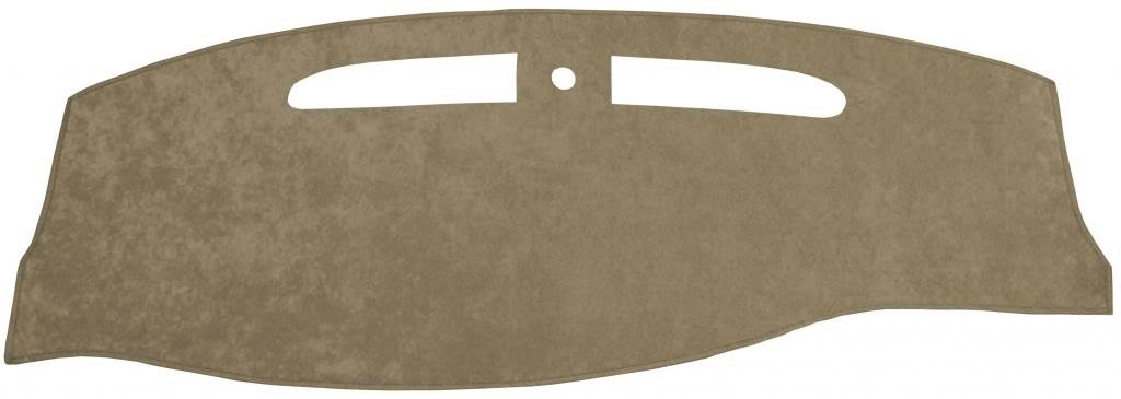 Seat Covers Unlimited Chevy Silverado Dash Cover Mat Pad Custom Suede, Gray Fits 1999-2006