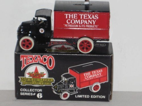 Collector Texaco (1989 Ertl Texaco 1925 Mack Bulldog Lubricant Truck - Collectors Series #6 - Limited Edition by ERTL)