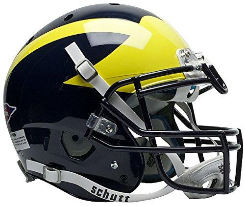 - Schutt NCAA Michigan Wolverines Authentic XP Full Size Helmet