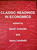 Classic Readings in Economics, Colander, 0072418370